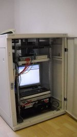 IT System Schrank Rack Baufirma